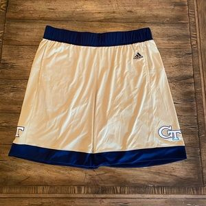 Adidas Georgia Tech Basketball Shorts
